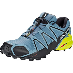 Salomon Speedcross 4 Shoes Herren bluestone/black/sulphur spring